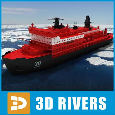 obj 50 years victory icebreaker
